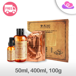 Zhang Guang 101 Silicone Free Formula Hair Care Set Series  章光101养泽堂生姜氨基酸洗护养套装护发系列