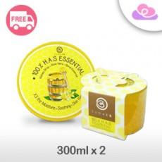 Sugar B 100% H.A.S Essential Soothing Gel 韩国万能蜂蜜凝胶 300ml x 2