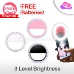 Beauty Flash Pro (BFP) LED Selfie Ring Light for smartphone laptop iPad 自拍光环闪美肌光灯圈夹 适合多数手机手提电脑