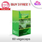 B-Green Traditional Medicine Slimming Vegetable capsules 60 vegecaps 纤体蔬果胶囊 60颗
