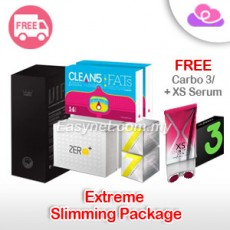 VIP + 7 Focus / Clean 5 / Zero Plus FREE Carbo / + XS Serum Package 送 Carbo 3 Sample / + XS瘦身膏 终极瘦身配套