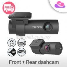 Blackvue DR750S-2CH Dual-channel Full HD Wifi Built-in GPS Car DVR Recorder Camera Dashcam 16GB