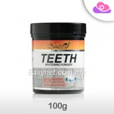 Nucifera Teeth Extra Whitening Powder 100g 牙齿美白粉 Arang Pemutih Gigi