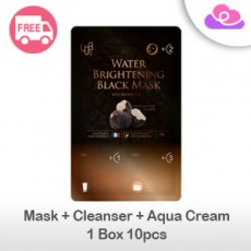 [PRE-ORDER] UGB (UGBang) Water Brightening Black Mask 10pcs/Box 童颜黑松露水光黑面膜 10片/盒