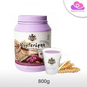 Mayterlynn by LaZior Botanical Beverage Mix Purple Sweet Potato Powder with Oat Bran 精选紫薯谷粮植物饮料混合紫薯粉燕麦麸 800g