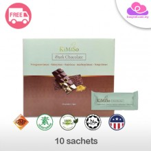 KiMiSo Dark Chocolate Slimming Instant Drink 10 sachets 极美索黑巧克力即溶瘦身饮料10包