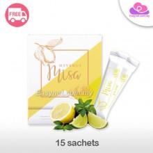 Misa Flawless Whitening Lemon Collagen Botanical Beverage 15 sachets 美白姿最柠檬胶原蛋白美白美肌饮料15包