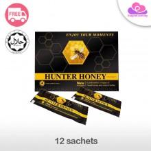 Hunter Honey (HALAL) 12 sachets 猎人蜂蜜男人之宝保健壮阳补肾 12包