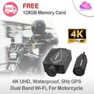 Innovv K5 Motorcycle Dashcam 4K Ultra HD Sony Sensor 5Hz GPS IP67 Waterproof Dual-band WiFi DVR Video Recorder Camera