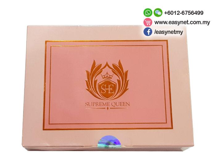 SHE Supreme Queen (V-II /V2) Virginal Queen Ovarian Beautify (20 Sachets x 5g) 女性子宫更年期卵巢保养美容饮料