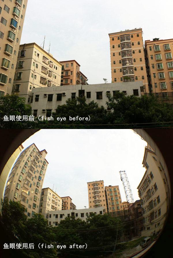 fish eye lens H8002