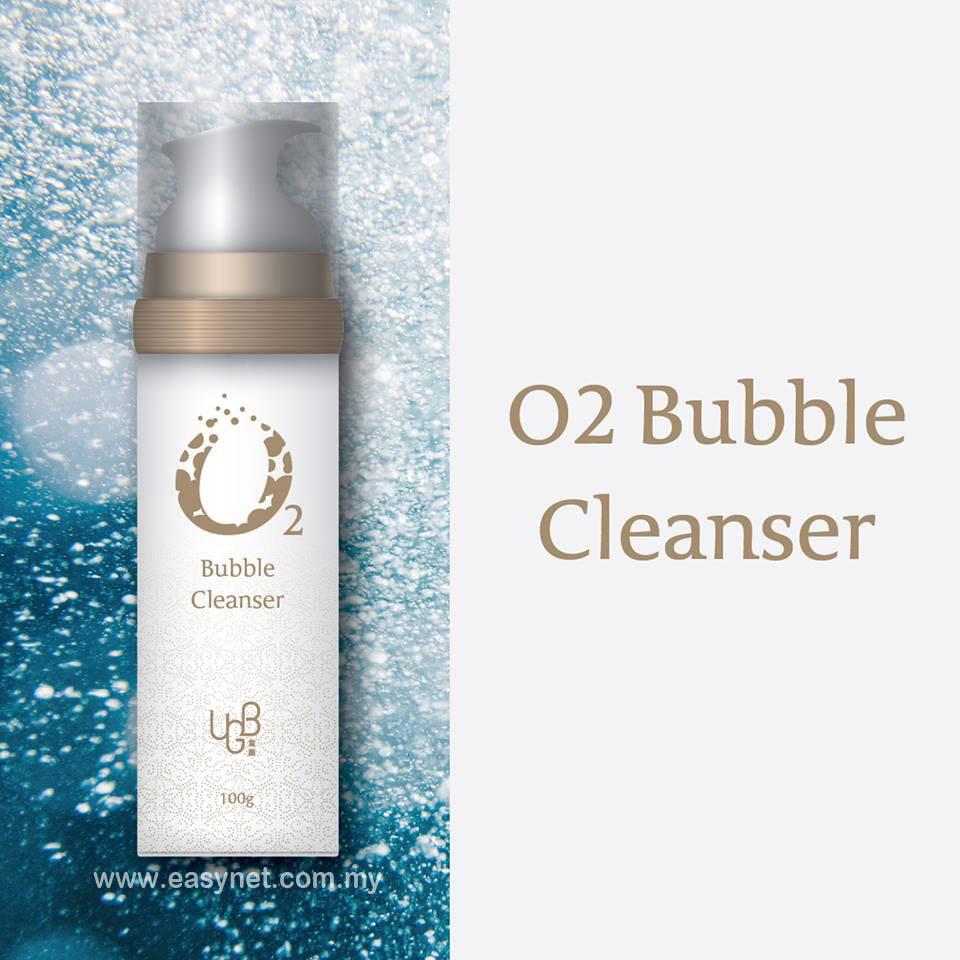UGB (UGBang) O2 Bubble Cleanser [Makeup Remover + Exfoliate + Cleanse (Dong-An Series) 100g  UGB 童颜系列氧气泡沫洁面乳 (卸妆+去角质+洁面) 100g